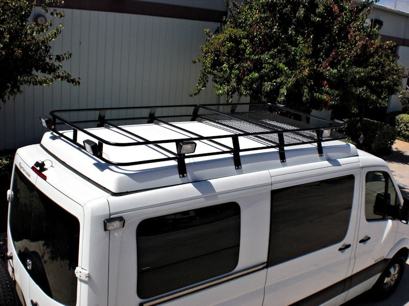 Mercedes Sprinter Roof Racks Modern Roofing Roof Architecture House Roof