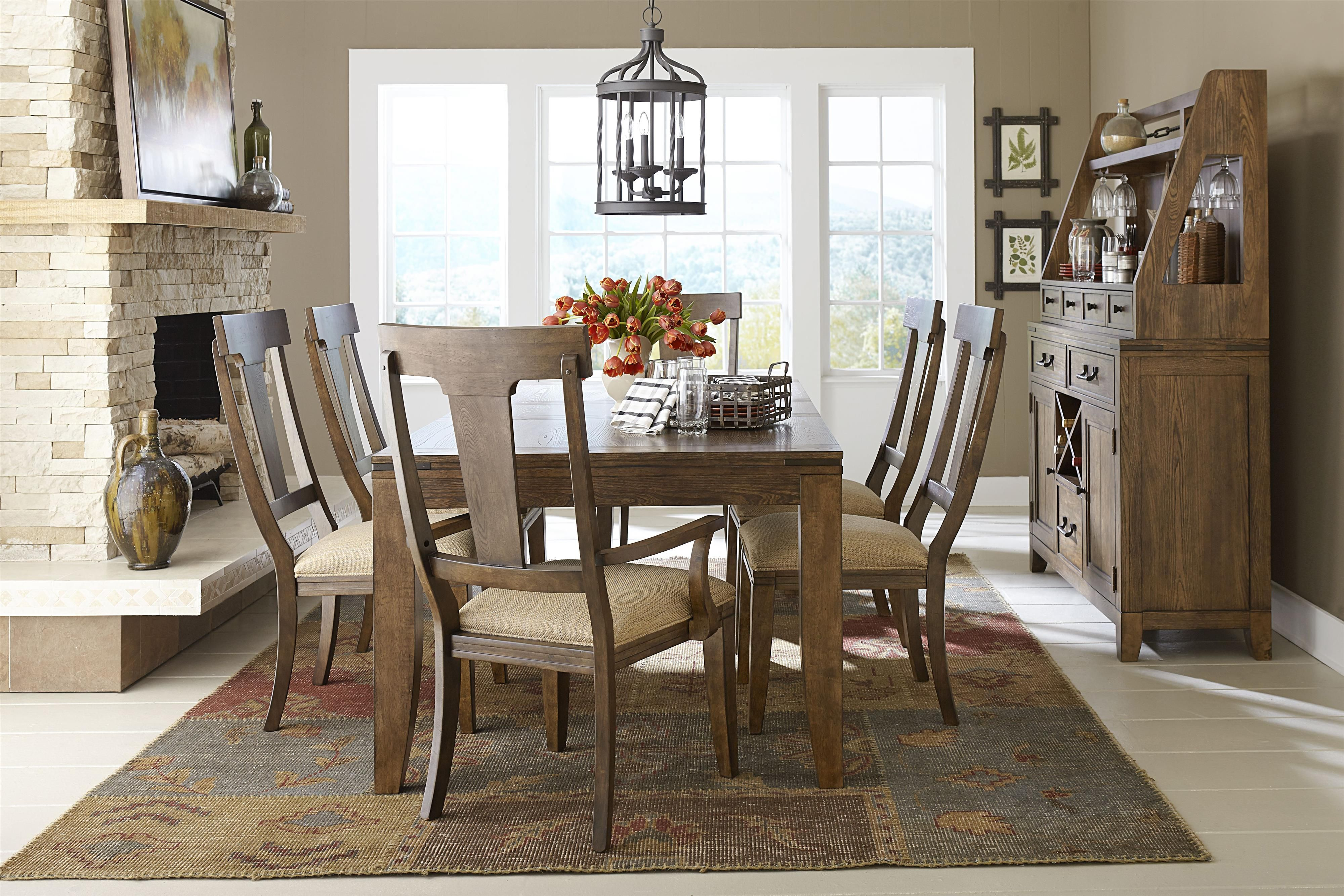 Legacy Classic River Run Leg Dining Table With 18 Leaf At Johnny Janosik