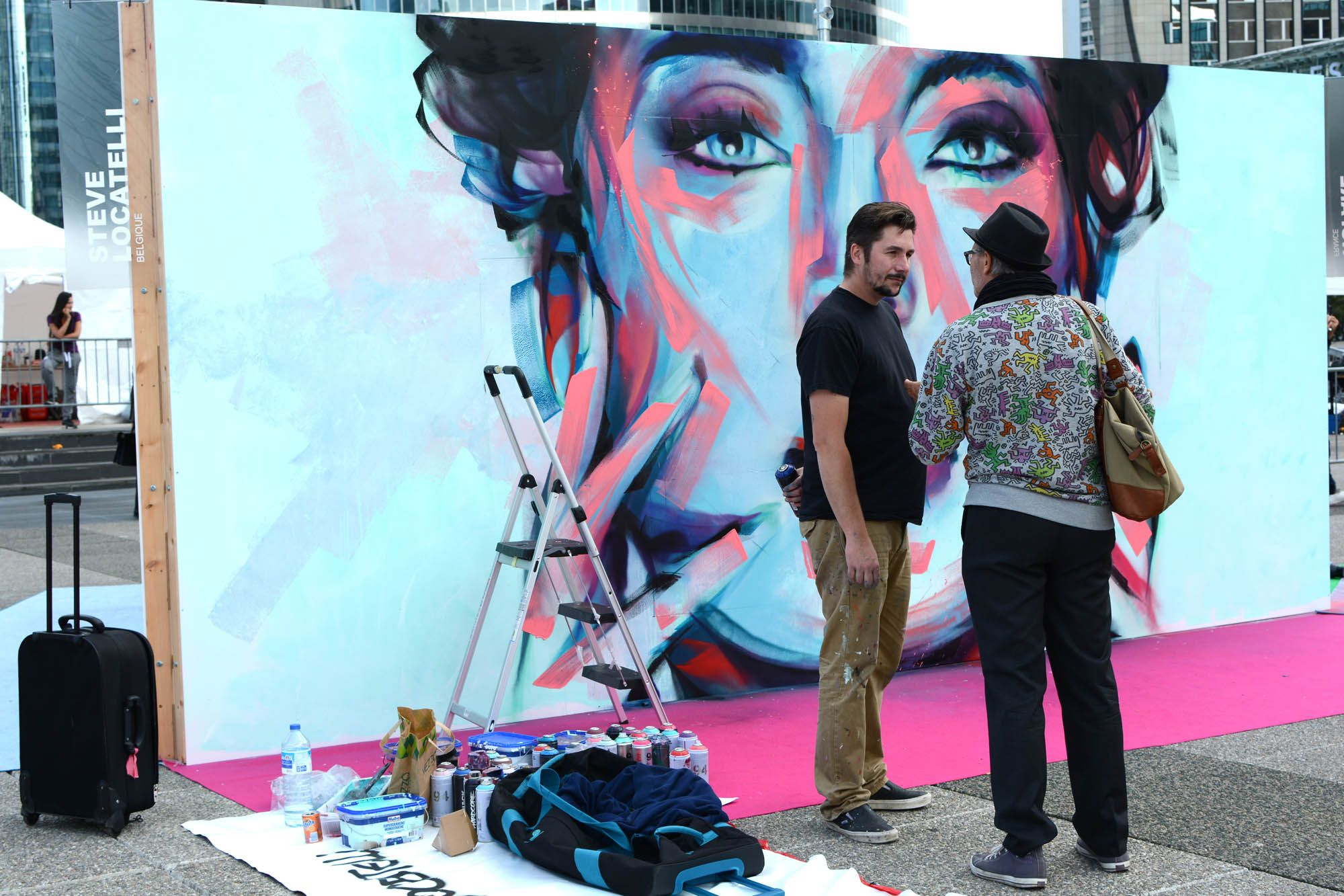 Portfolio of Steve Locatelli at Undergroud Effect 2 last september #streetart