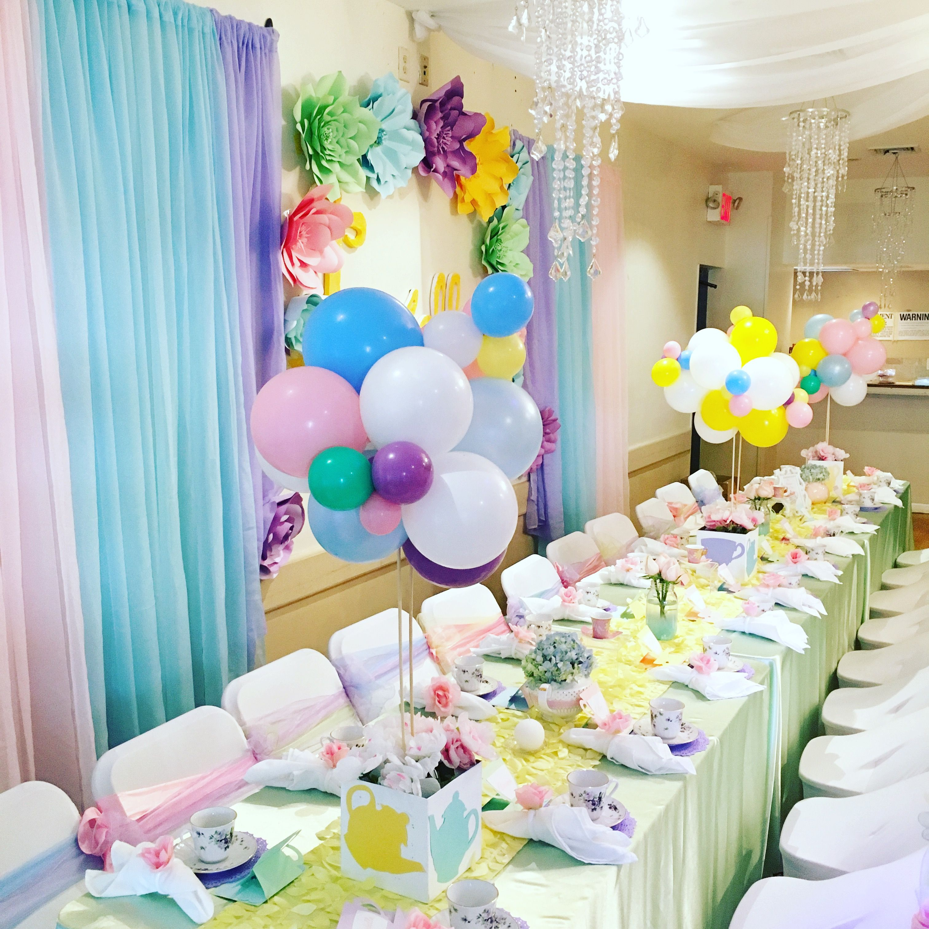 table setting for birthday party Loris Decoration