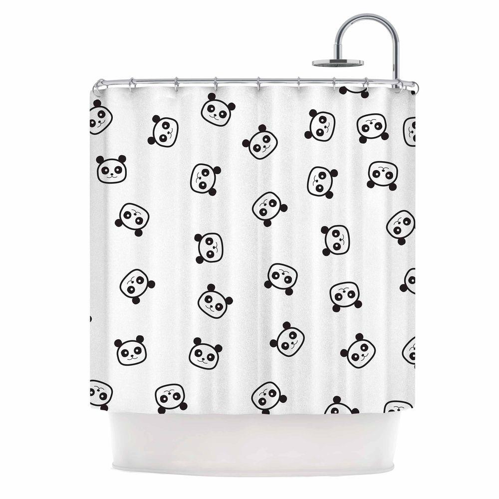 Tobe Fonseca Pandamonio Panda Pattern Black White Animals
