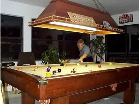 How To Make A Wooden Pool Table Light