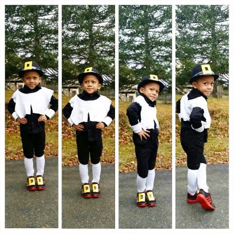 Diy pilgrim costume for little boy bought 1 white t shirt from diy pilgrim costume for little boy bought 1 white t shirt from dollar tree solutioingenieria Image collections