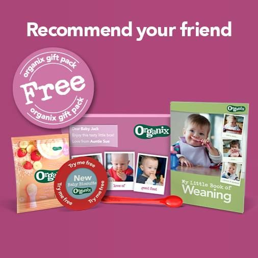 FREE Organix Weaning Packs - Gratisfaction UK Freebies #freebies #freestuff #weaning #baby