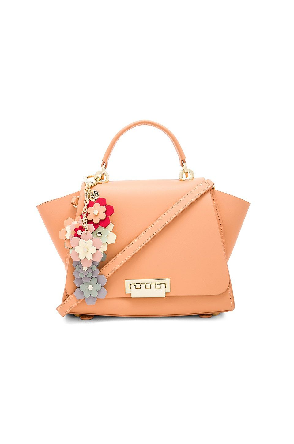 Zac Zac Posen Eartha Iconic Convertible Backpack Bag In Coral