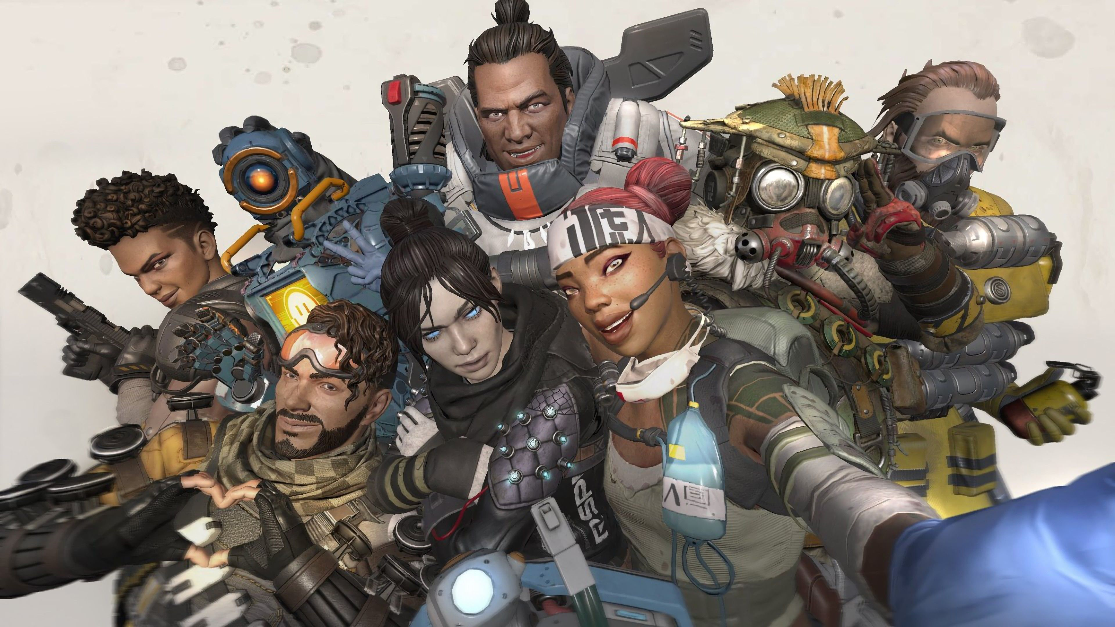 Apex Legends Characters Selfie 4k 2019 Apex wallpaper 4k