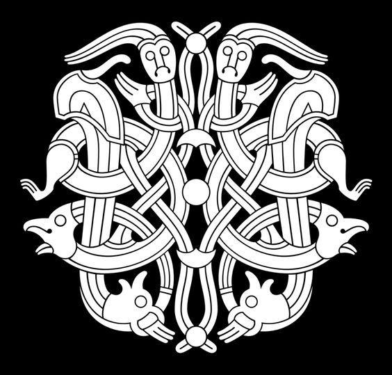 Славянская символика тату фото мангалом дерева