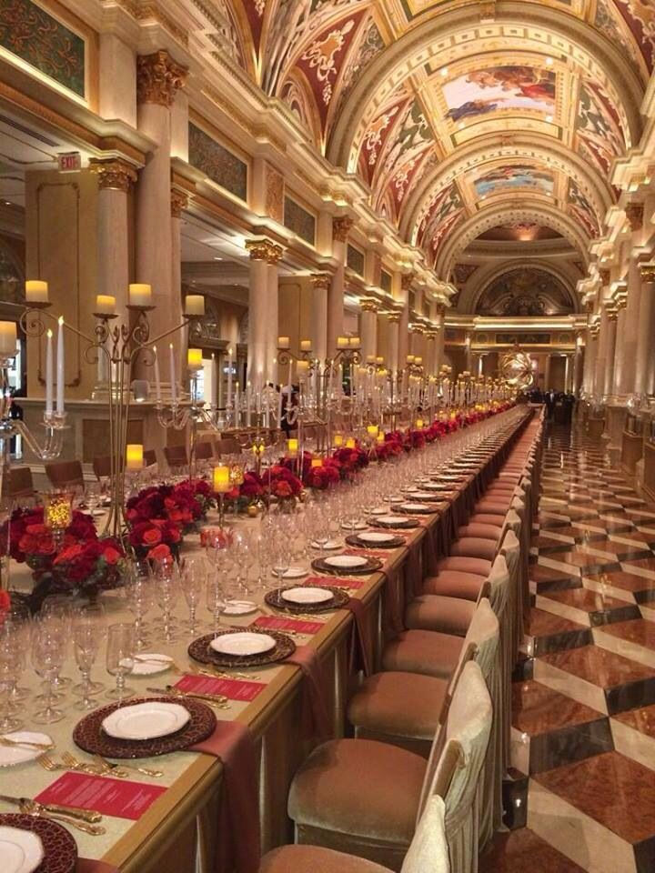 Grand Banquet At The Venetian Las Vegas