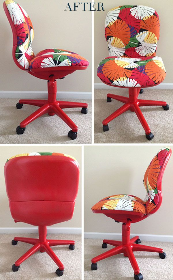 Office Chair Makeover Design Itch Before After Office Chair