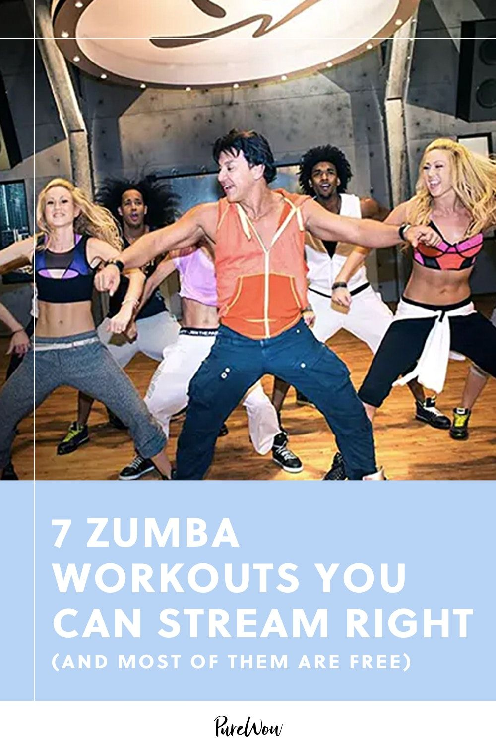7 Zumba Workouts You Can Stream Right Now (and Most of
