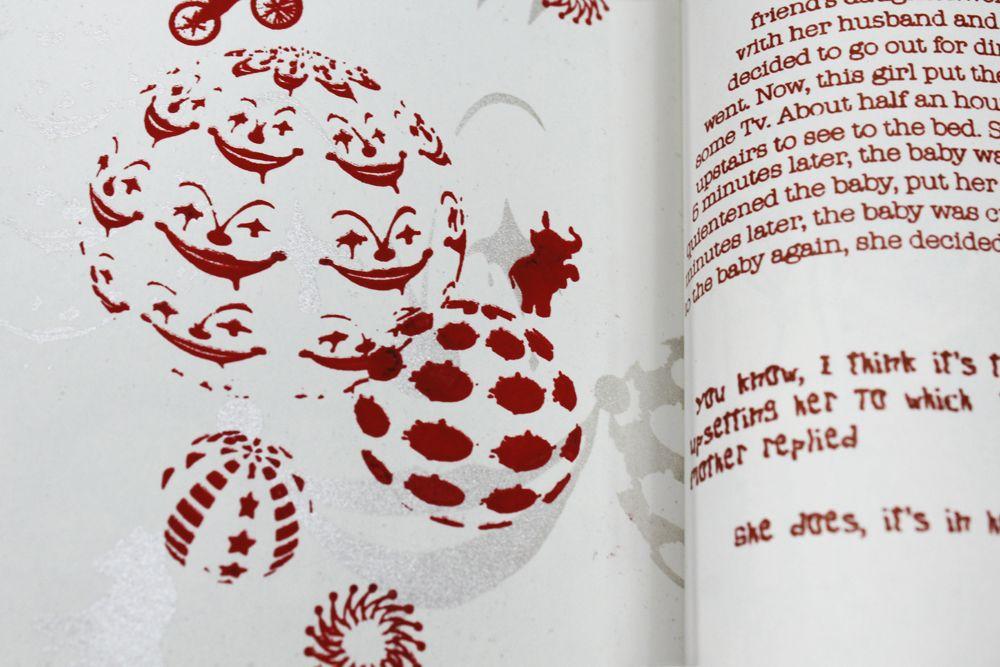 detail look of pattern.