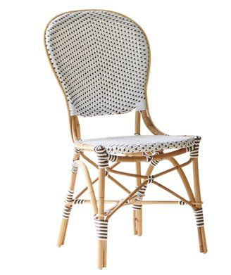Sika Design #Rattan-Stuhl Isabell Weiß Gartenmöbel \ Outdoor - gartenmobel design weis