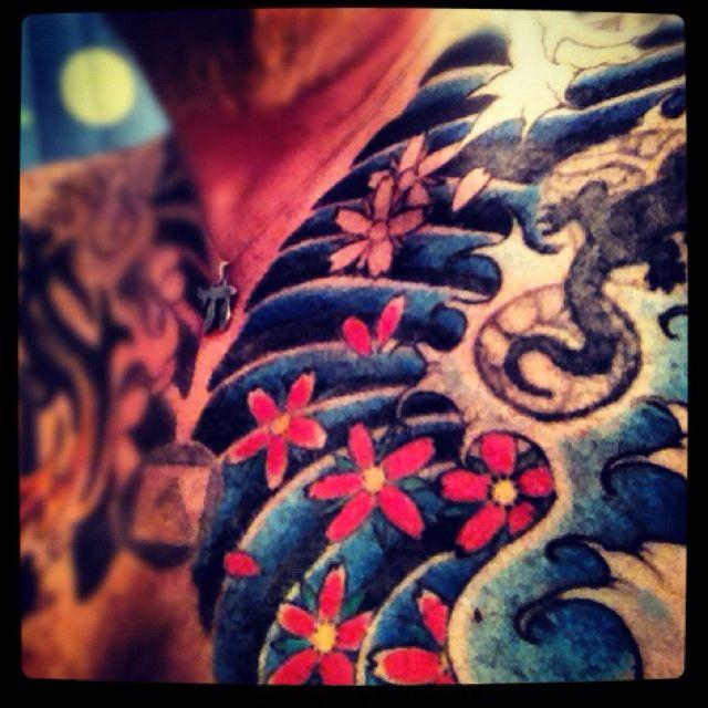 My Tattoos left chest