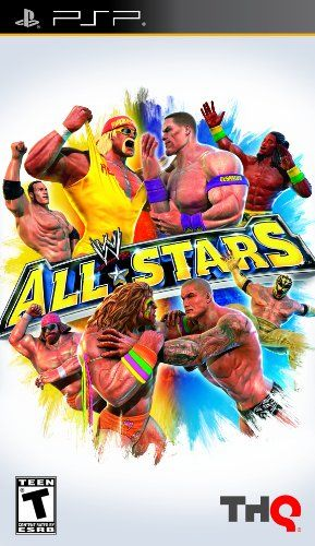 Wwe All Stars Sony Psp More Info Could Be Found At The Image Url Note It Is Affiliate Link To Amazon La All Star Wrestling Games Wii