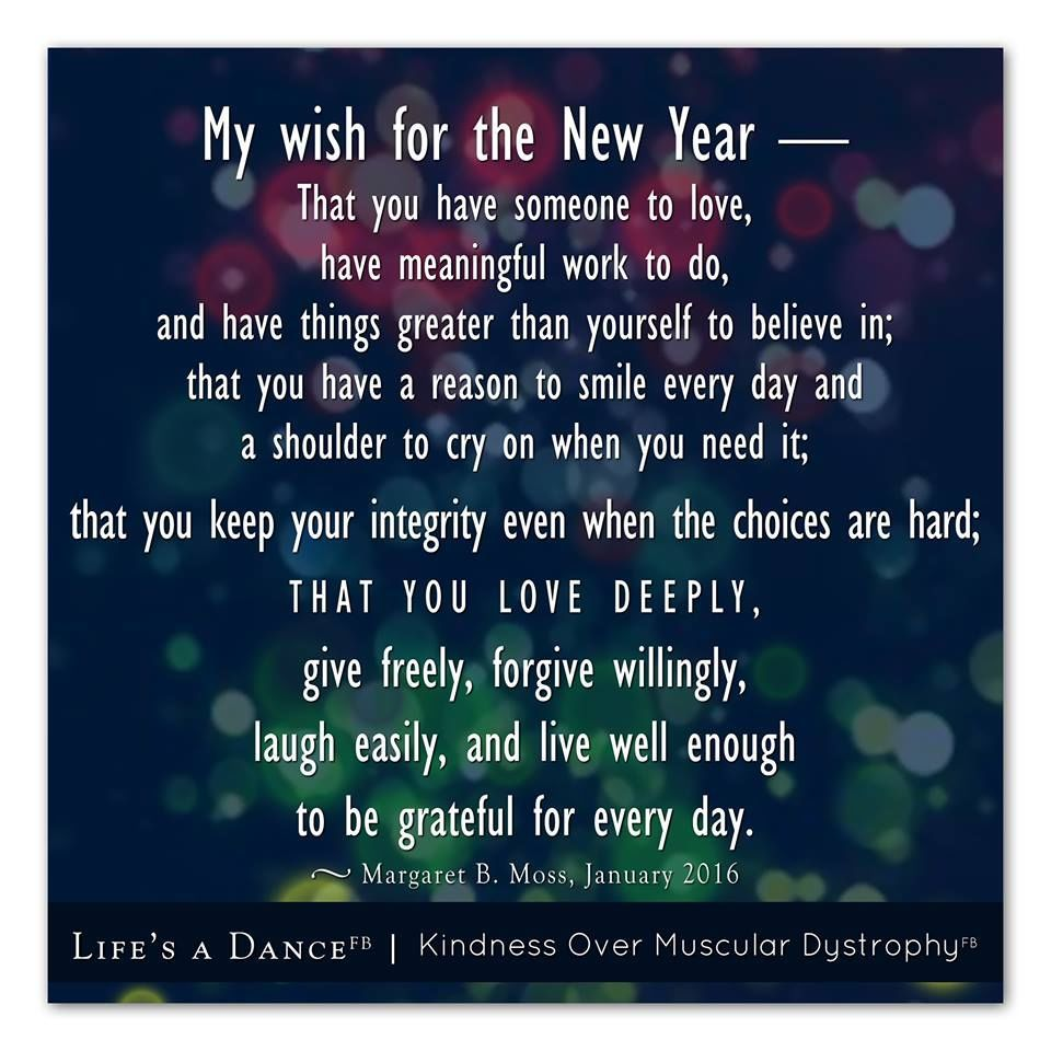 My Wish For The New Year New year quotes for friends
