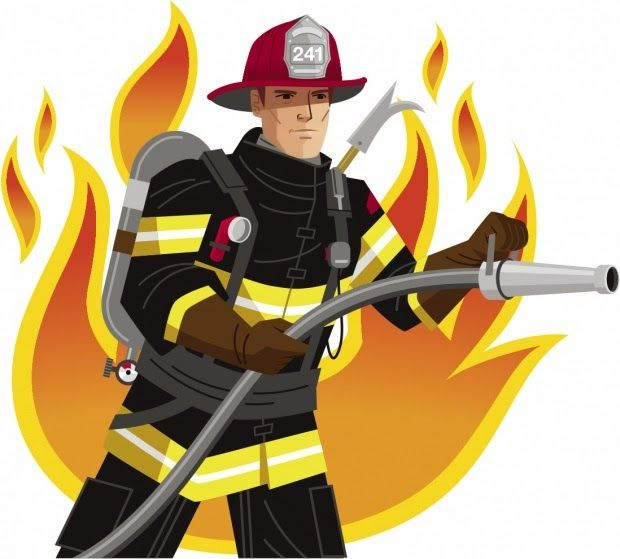 free firefighter clipart pictures clipartix firefighter rh pinterest com firefighter clip art vectors firefighter clip art free