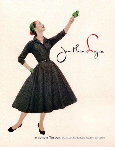 2173-jonathan-logan-1955.jpg (392×500) | Anos 50 | Pinterest