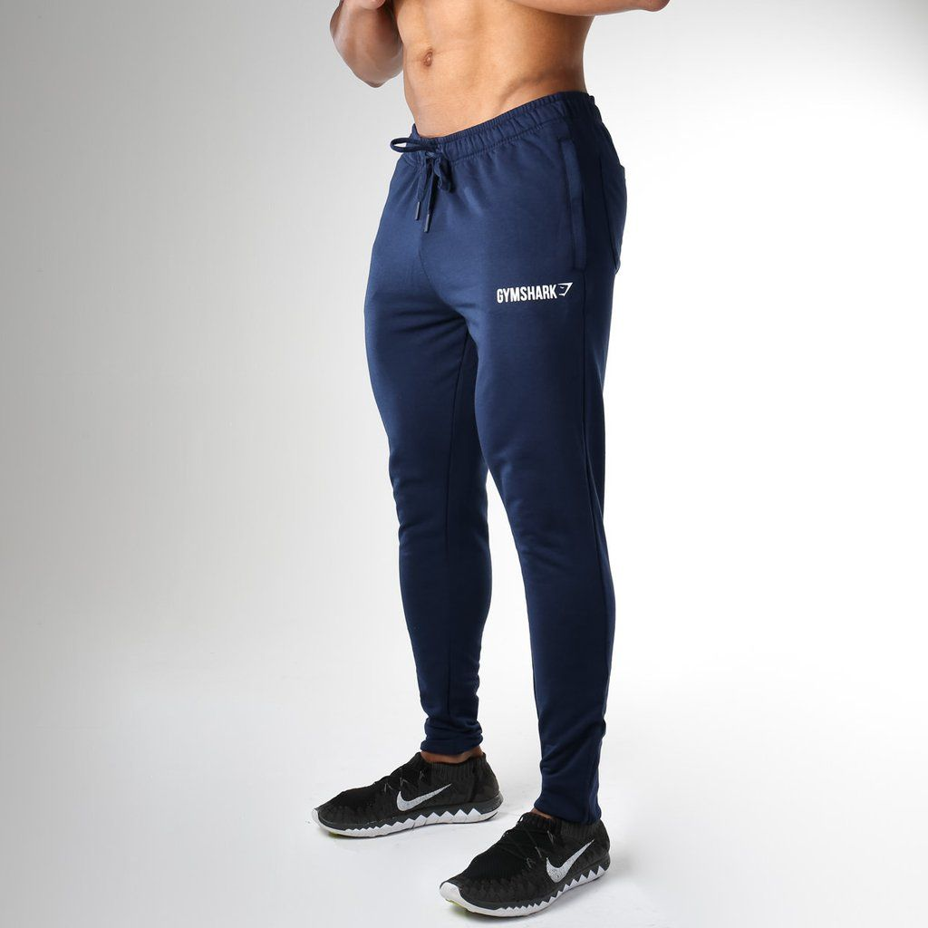 0ffbee29a6eaa Gymshark Fit Tapered Bottoms - Sapphire Blue at Gymshark | Gym Gear ...