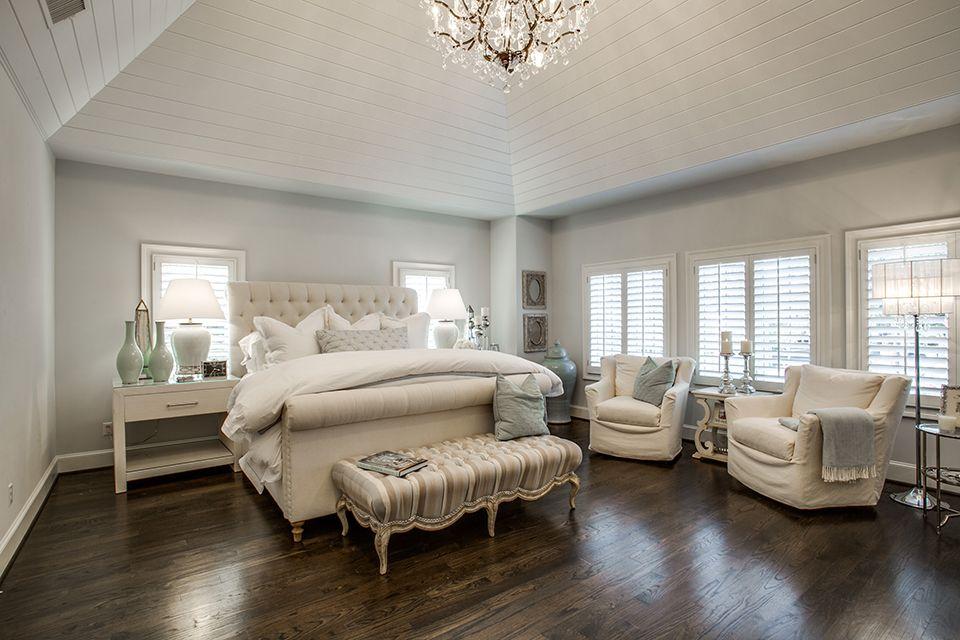 Simple, clean, and elegant master suite. | Beautiful ...