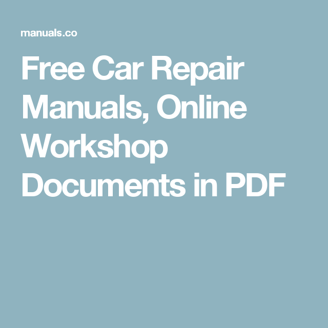 free technical manuals online