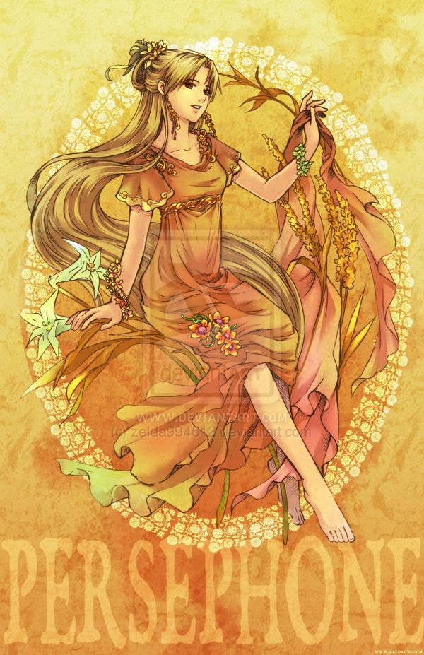MYth character: Persephone by zeldacw.deviantart.com on ...