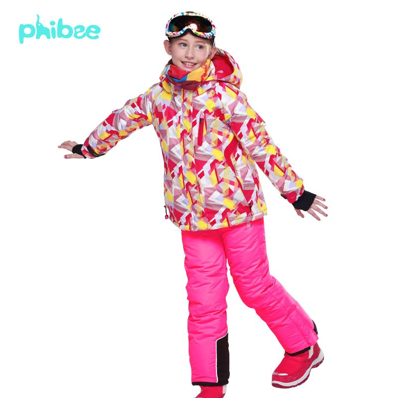 da9f3f6ae Find More Information about Phibee Girls Ski Suit Kids Camouflage ...