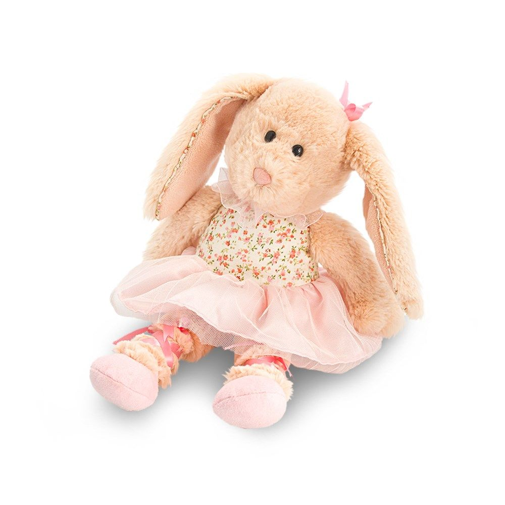 Soft toy gifts teddy bear delivery in the uk ballerina and rabbit send our floral rabbit ballerina as a gift and show show how much you care negle Choice Image