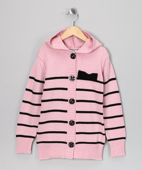 433240f62 Take a look at this Maria Elena Pink Celeste Stripe Cardigan ...