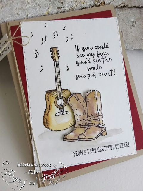 Stampin\u0027  Beyond Country Livin SU - Happy Birthday Pinterest - tarjetas creativas