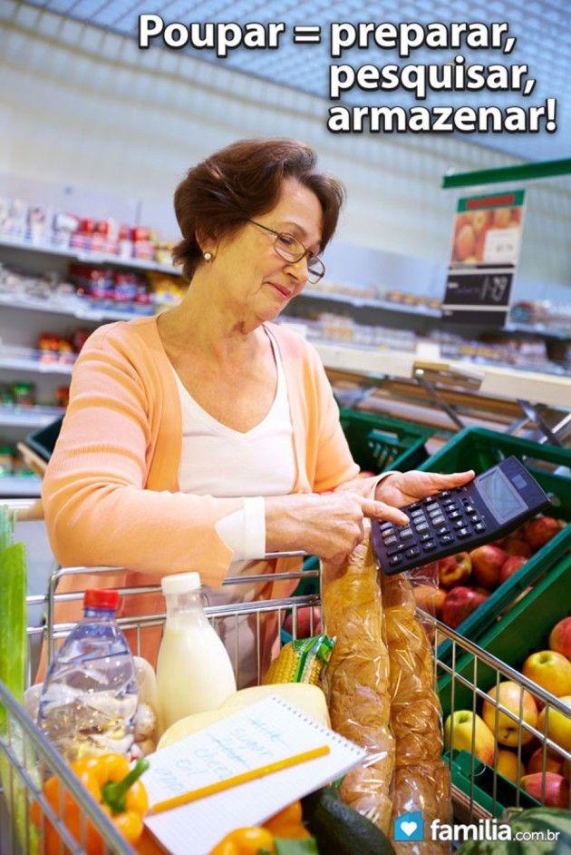 Como criar uma lista de compras de alimentos