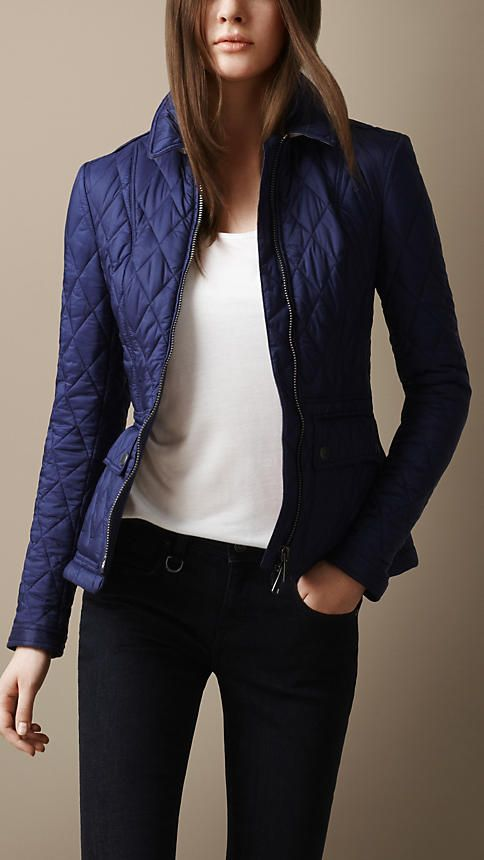 Women S Burberry Brit Burberry Quilted Jacket Quilted Jacket Womens Quilted Jacket