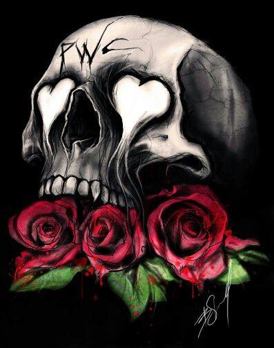 Skull Roses Sugar Skulls Skull Art Skull Wallpaper