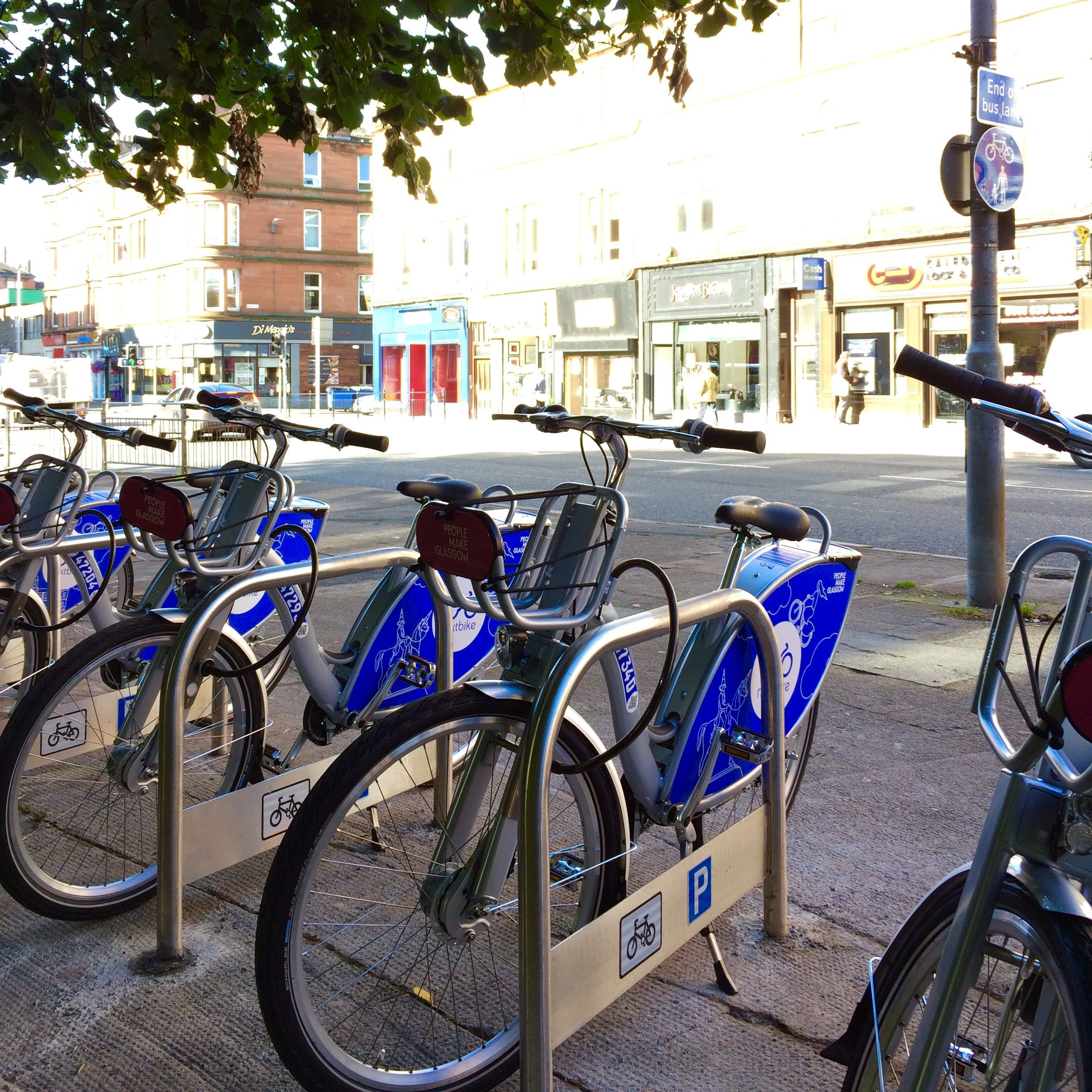 NEW Nextbike station has been erected across the road from ...