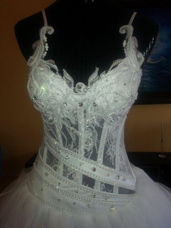Wedding Dress Custom one of a kindfairy bridal by SvetlanasBridal, $3500.00