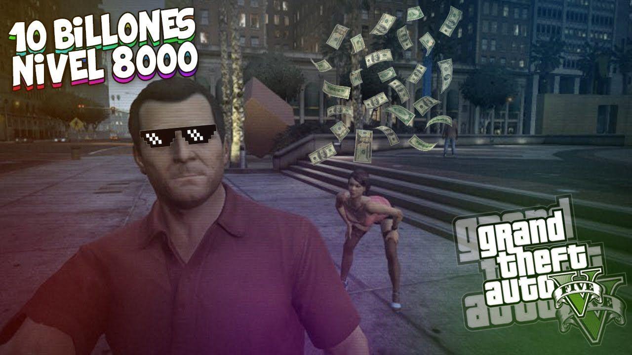 GTA V HACK GANAR 10.000.000.000 + NIVEL 8000 10