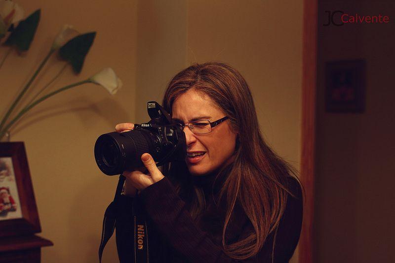 Fotografa cazada.