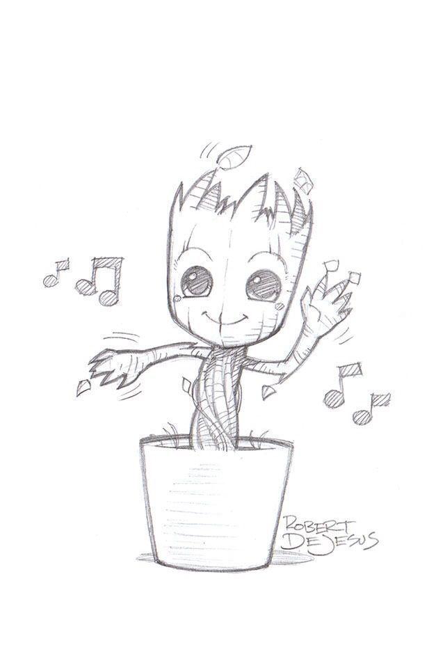 Photo of Meine Disney Zeichnung – Drawing Designs – Nur ein lässiges Bild von Baby Groot #cartoondrawing #drawing – # – Lynne Seawell's World