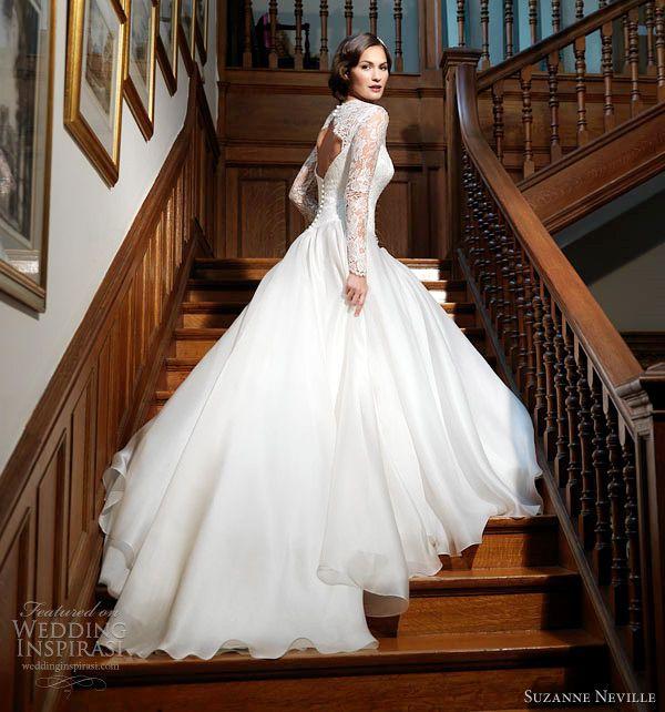 Eugenia Couture Spring 2016 Wedding Dresses Lace SleevesElegant