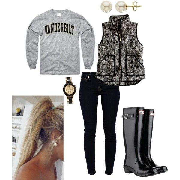 Vandy! | Casual winter outfits, Fall college outfits ...