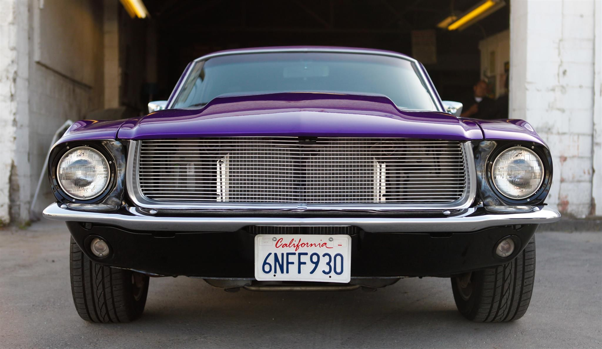 The Purple Mustang By Kjs Auto Body In Oakland Ca Click To View More Photos And Mod Info Purple Mustang Mustang Custom Cars