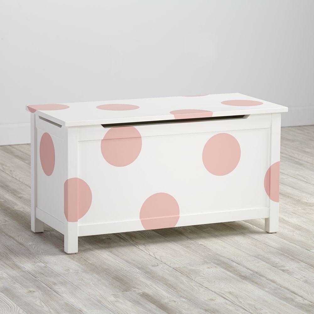 Geometric Furniture Decal (Pink Dot)
