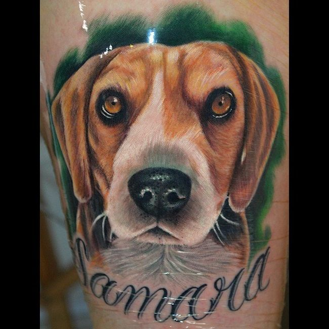 The 15 Coolest Beagle Tattoo Designs In The World Beagle Tattoo