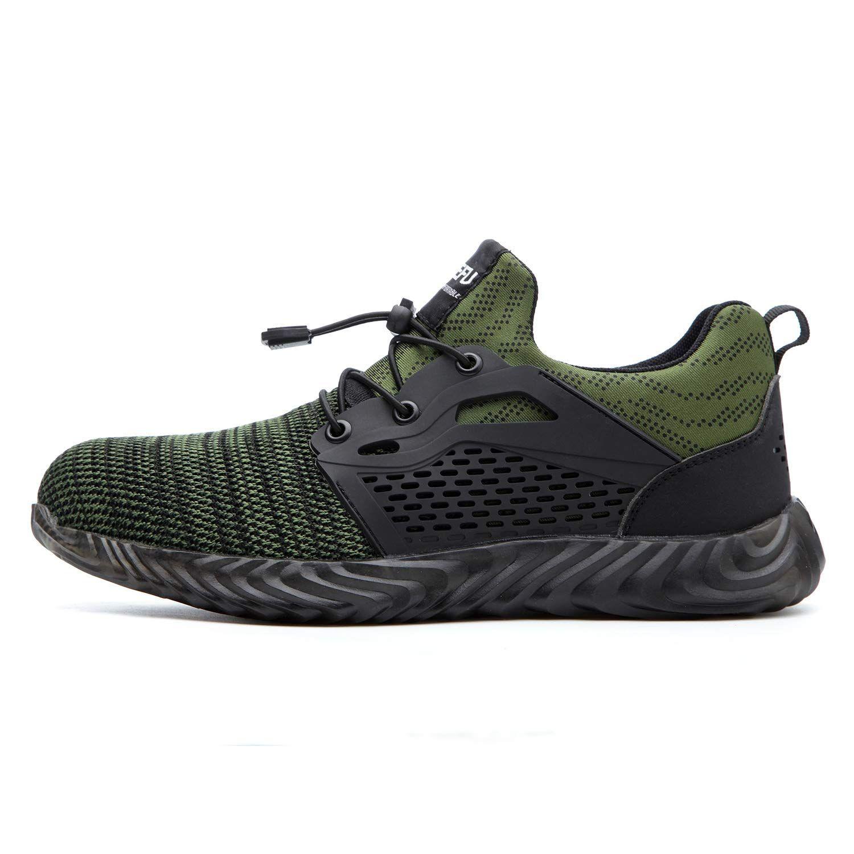 Indestructible Steel Toe Shoes for Men Women, Soft