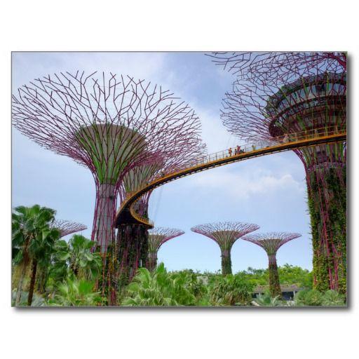 OCBC Skyway Singapore Post Cards