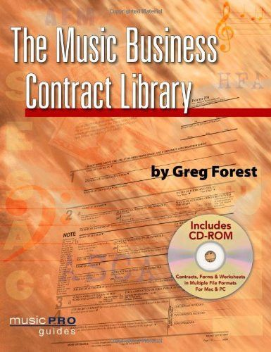 Music Business Contract Library (Hal Leonard Music Pro Guides - business contract