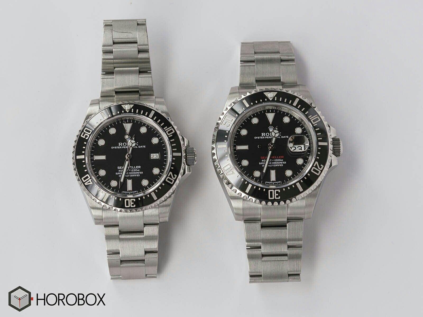 64c8cfa0537 ROLEX SEA DWELLER REF. 126600 VS SEA DWELLER REF. 116600 | Watches ...