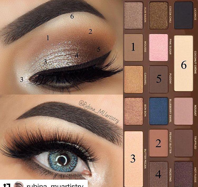 Tutorial amazing eye make up using Semi-sweet chocolate bar ...