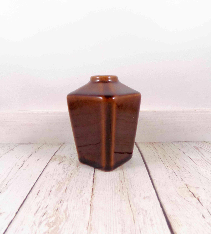 Brown bud vasehandmade potteryceramic vasepottery vasesvintage brown bud vasehandmade potteryceramic vasepottery vasesvintagecrackled reviewsmspy