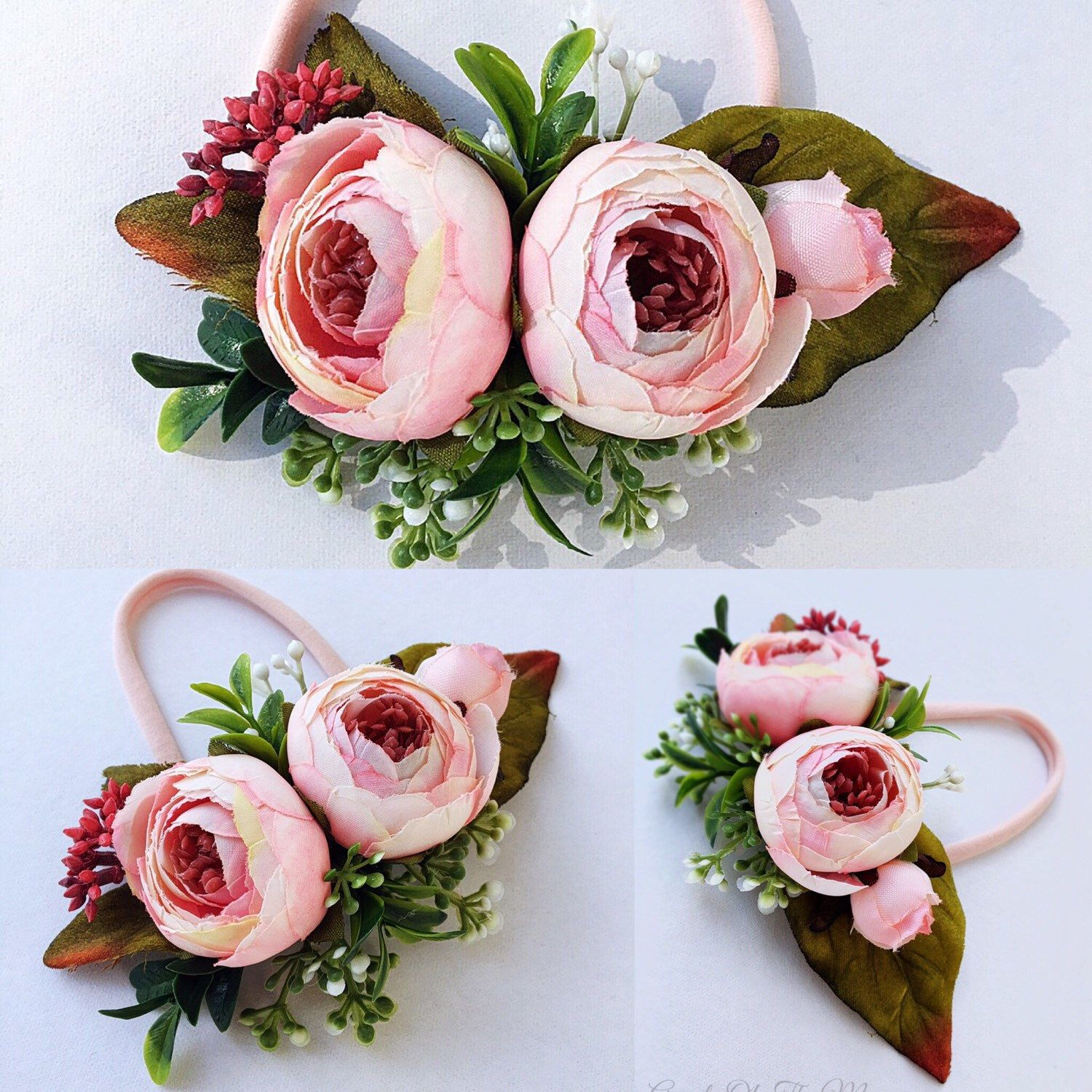 This Adorable Silk Flowers Accentuated With Stunning Green Leaves
