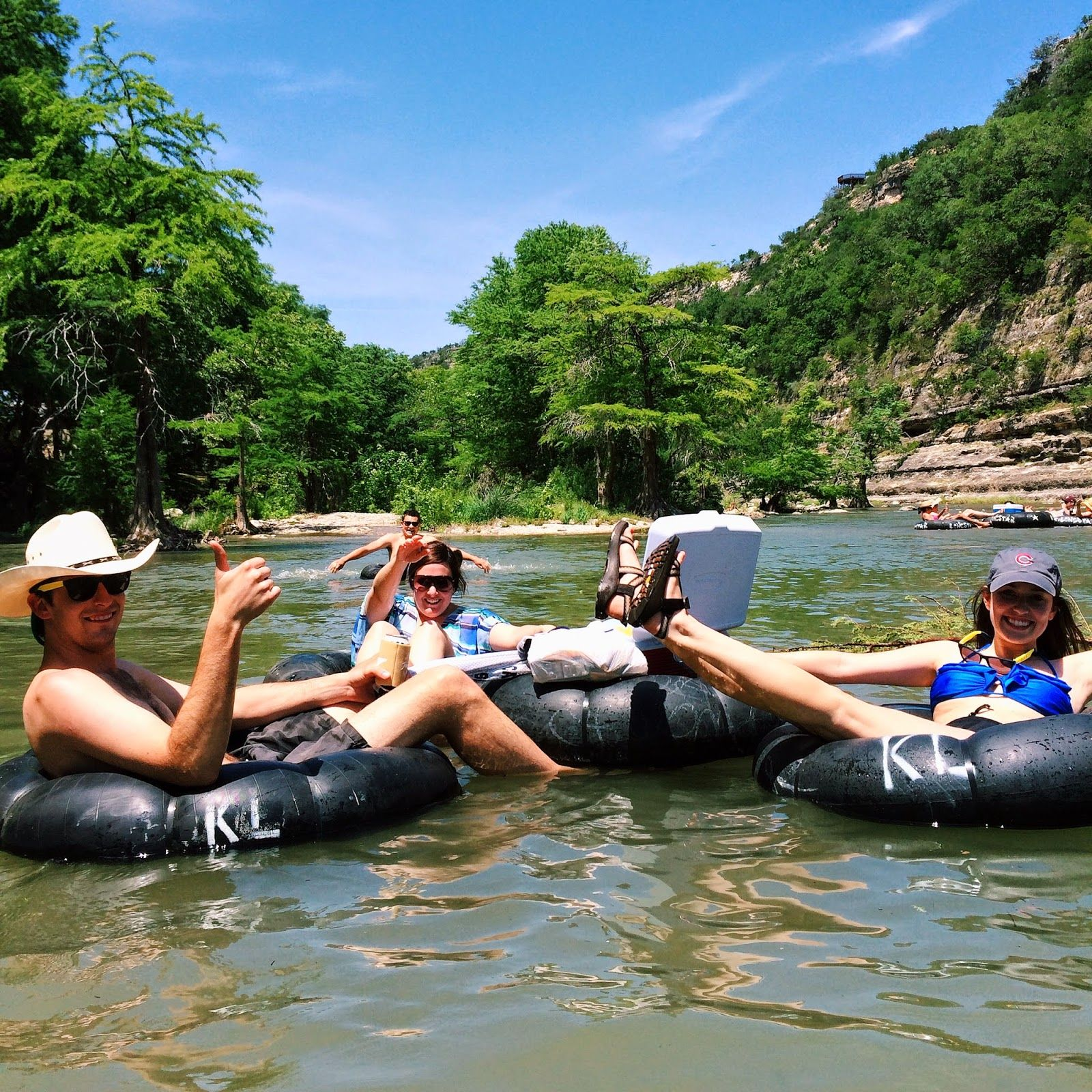 Roughing it in New Braunfels TX Texas Rivers and Texas travel